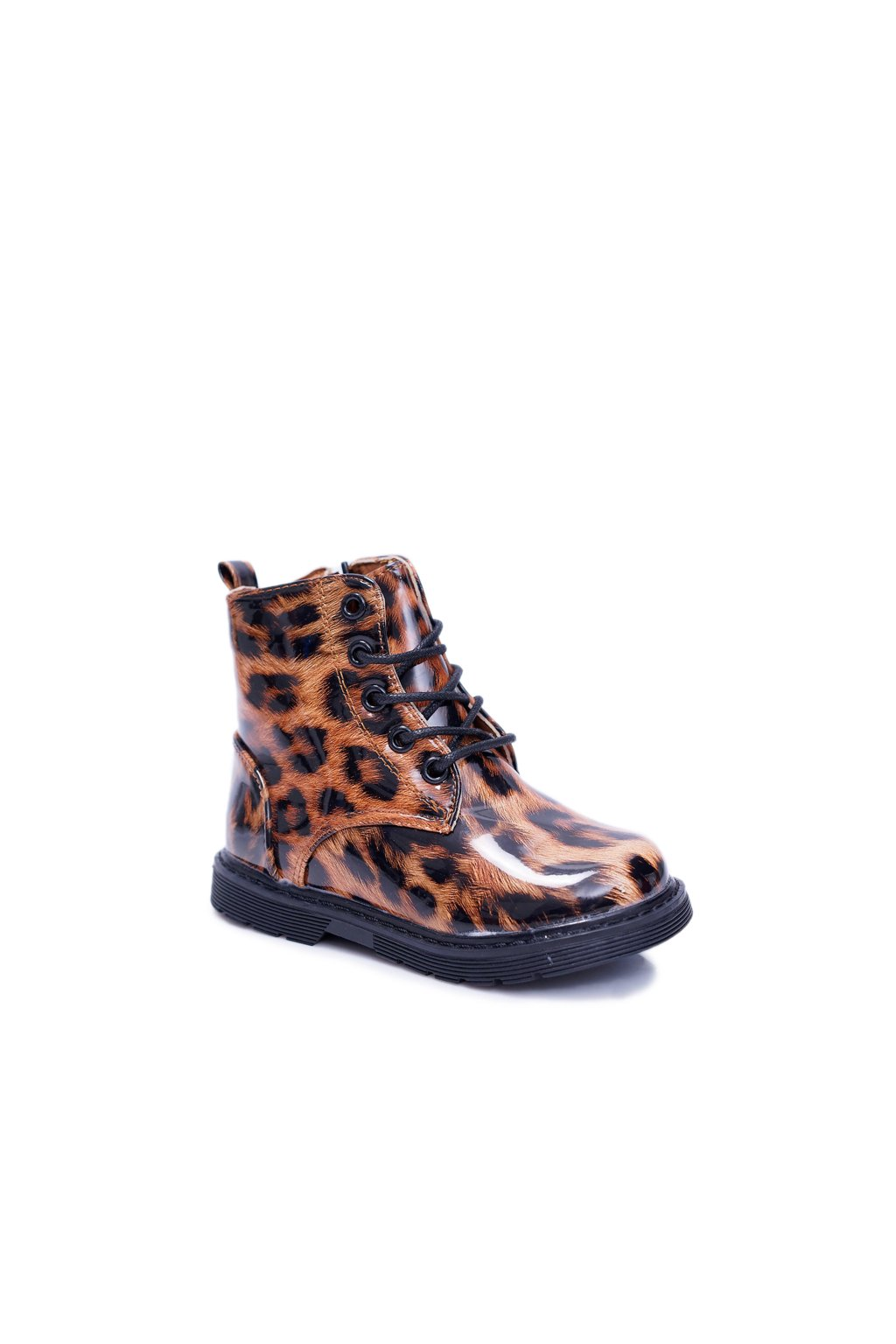 Detské topánky Dievčenské Chlapčenské Obuv Teplé Leopard Darsin