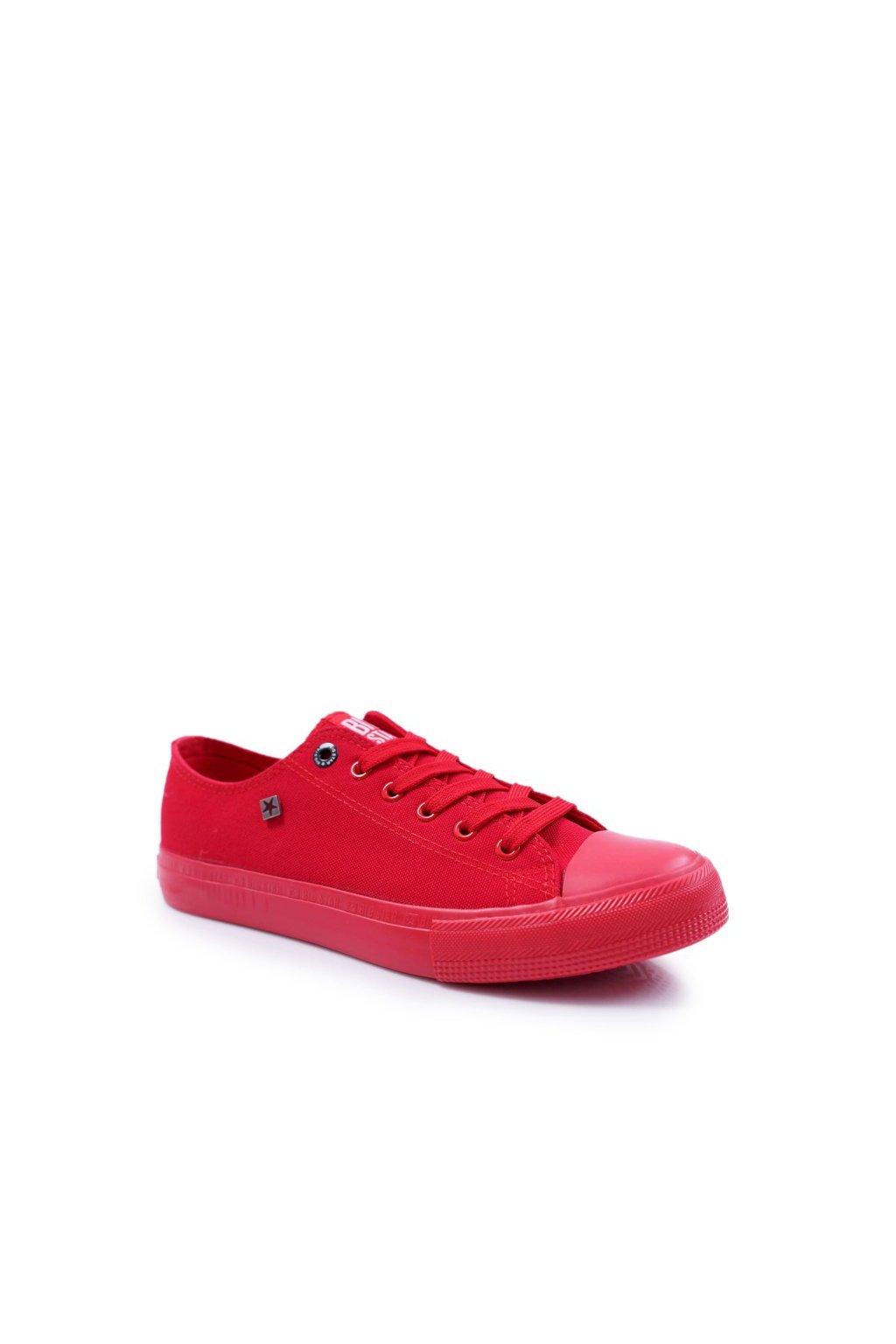 Červená obuv kód topánok AA174007 RED