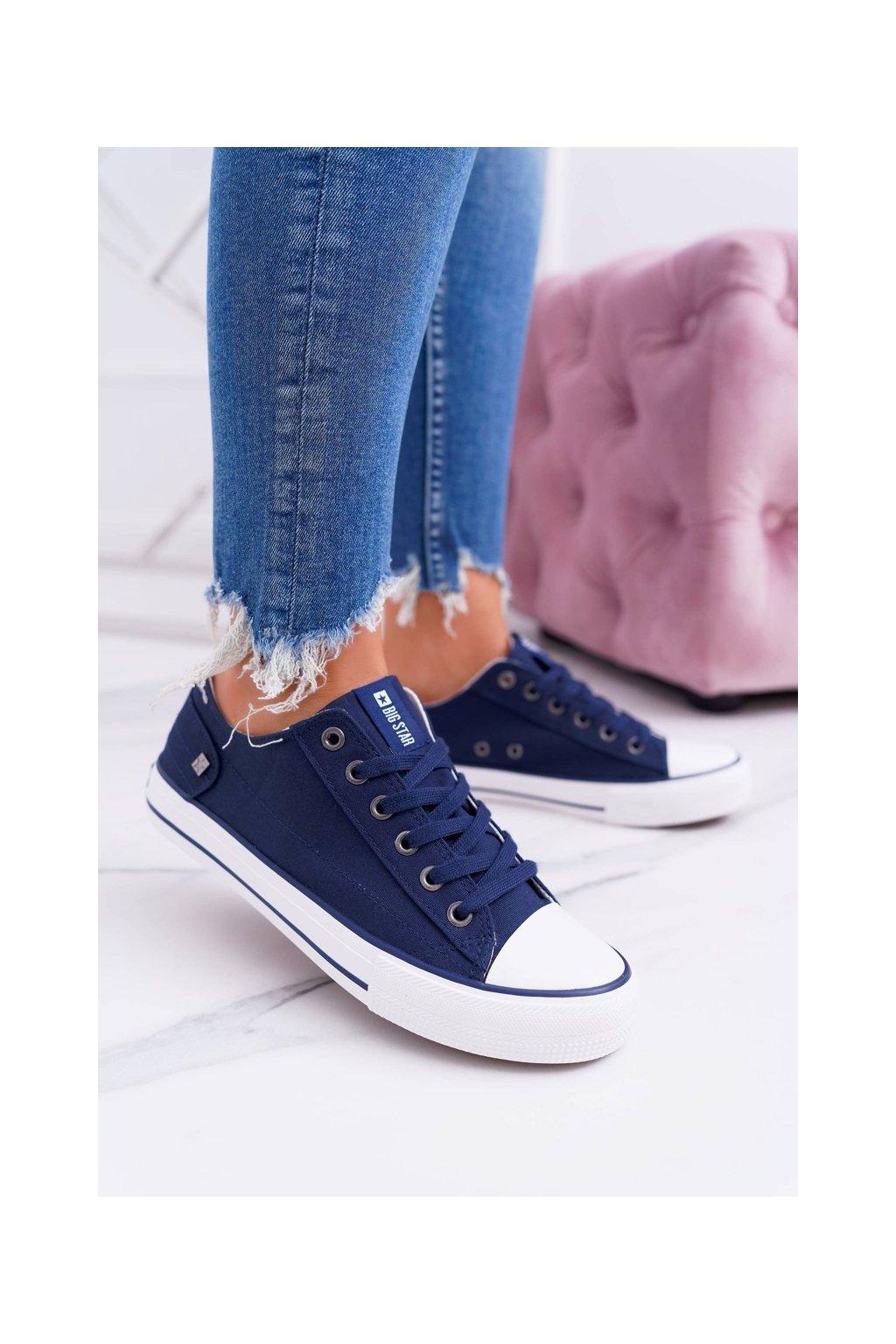 Dámske tenisky farba modrá kód obuvi DD274335 NAVY