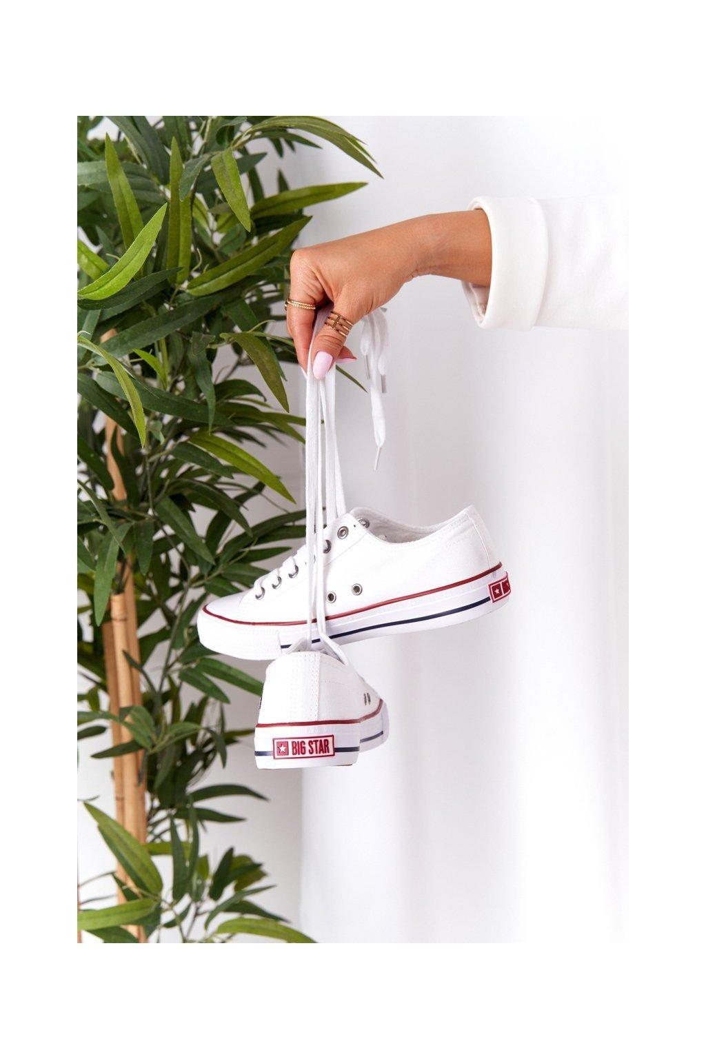 Dámske tenisky farba biela kód obuvi DD274336 WHITE