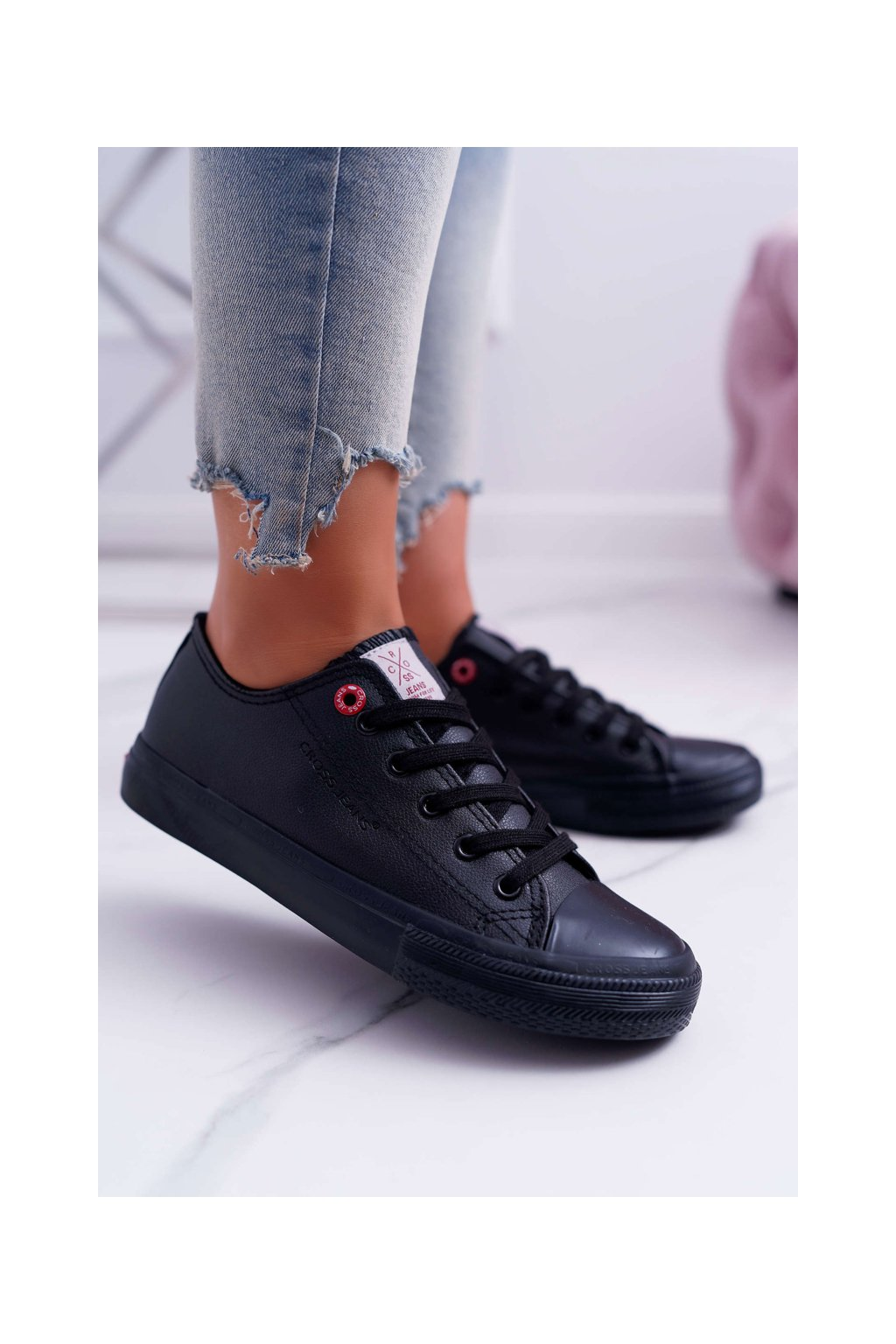 Dámske tenisky Cross Jeans čierne DD2R4029