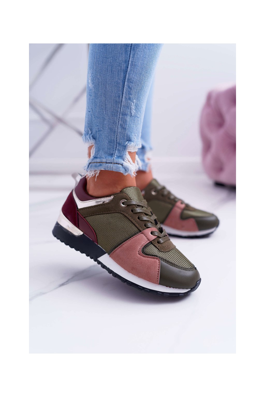 Dámska športová obuv zelené Merido