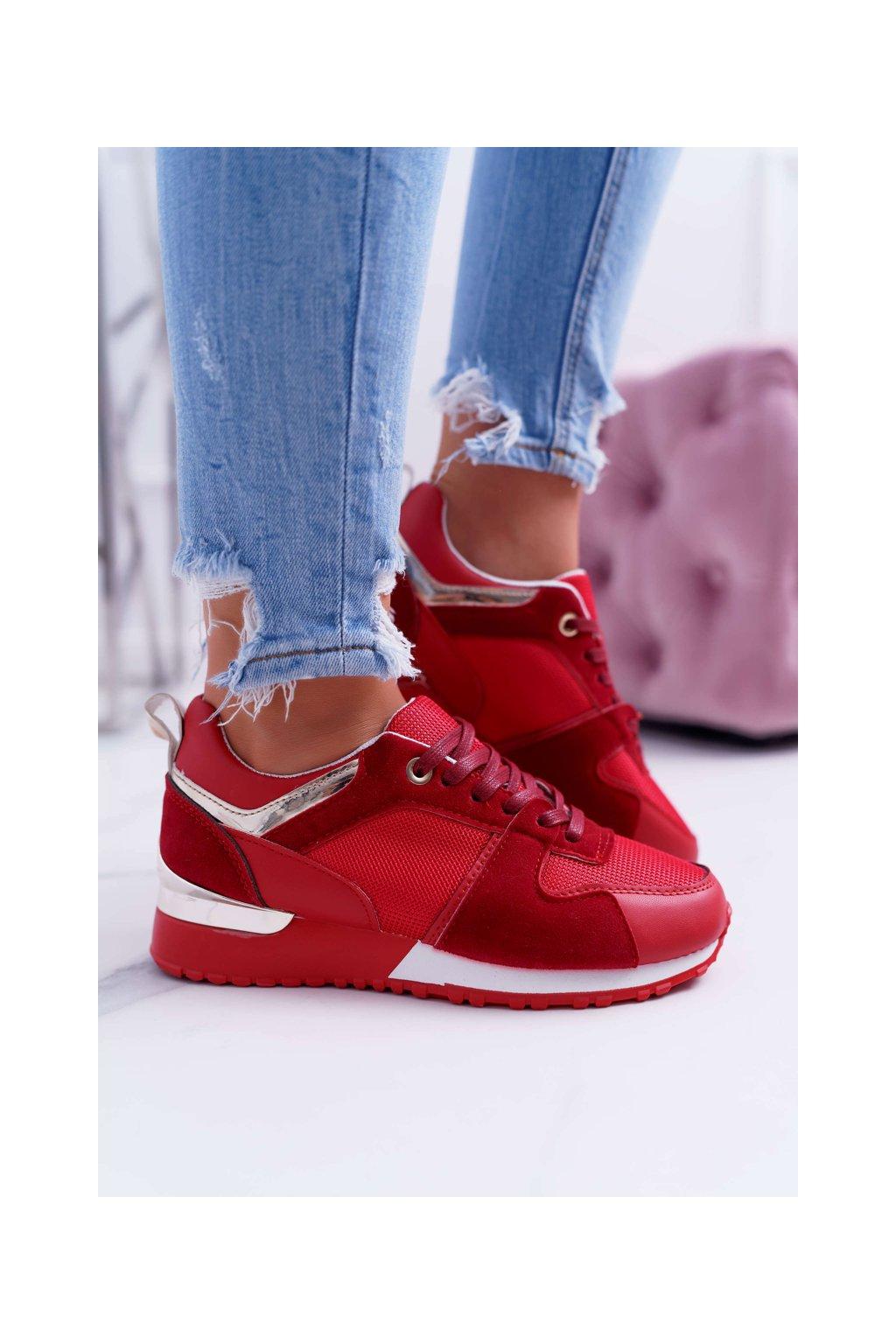 Dámska športová obuv Červené Merido