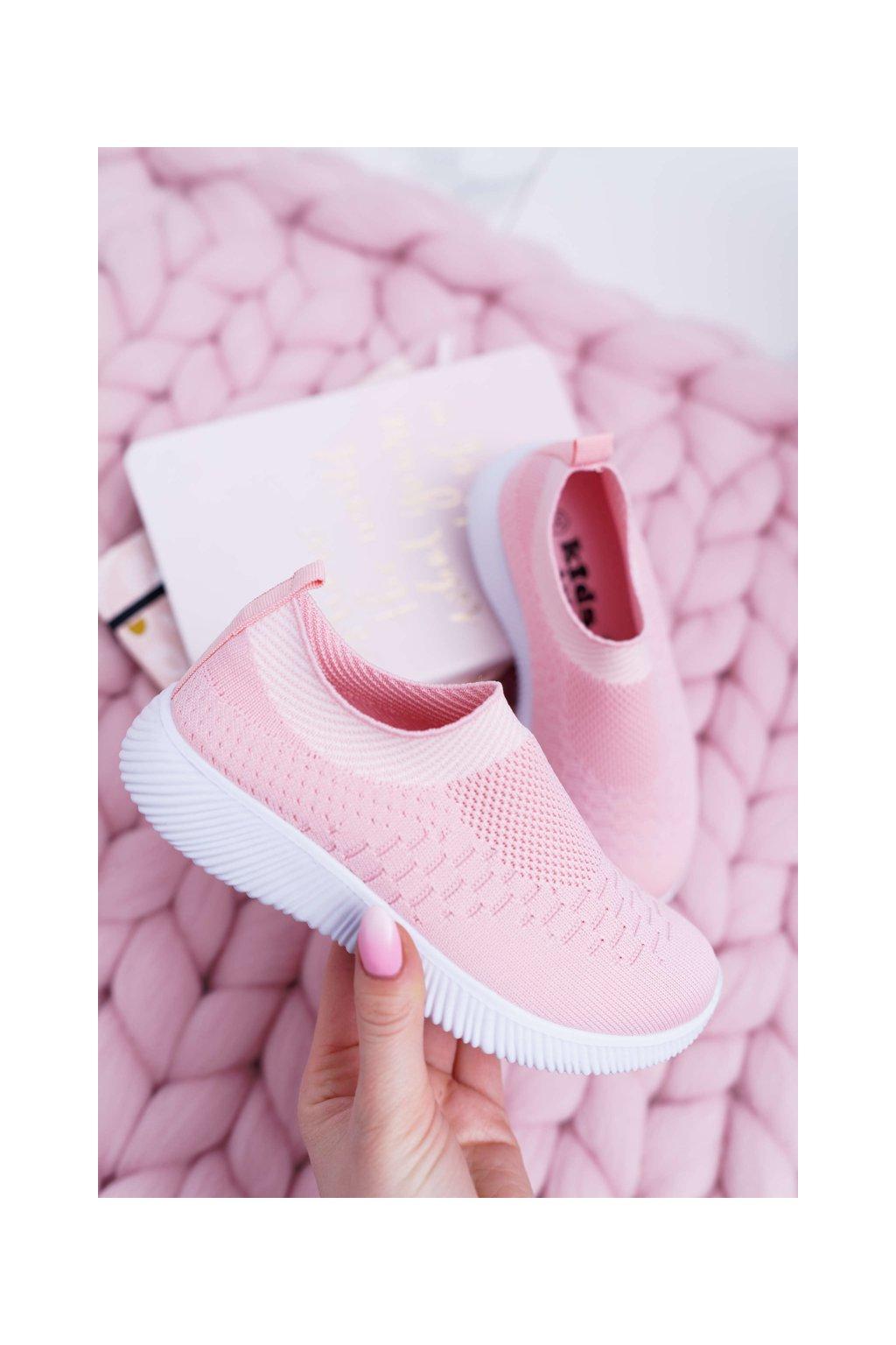 Detská športová obuv ružová Lambi