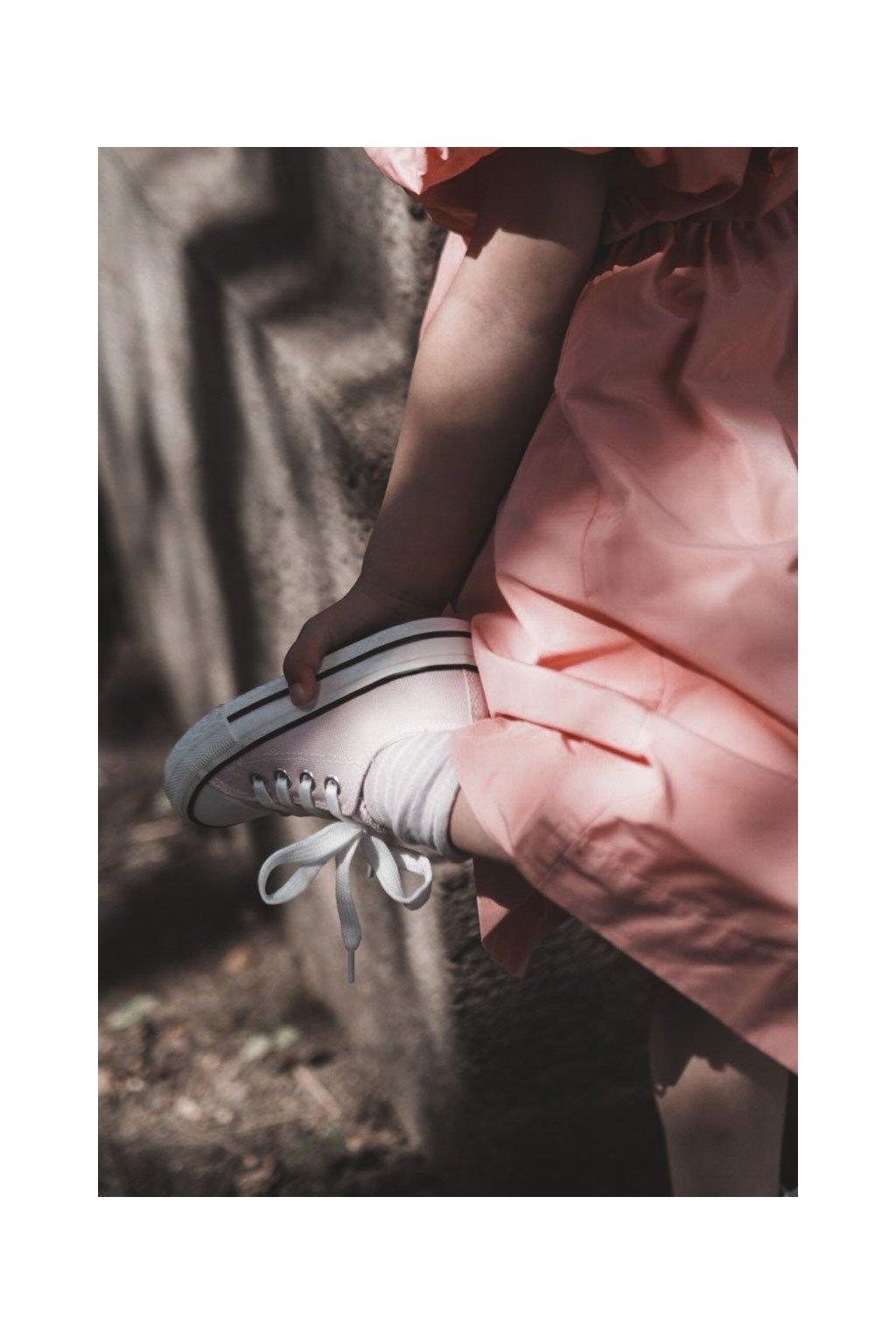 Detské tenisky farba ružová kód obuvi 860 PINK