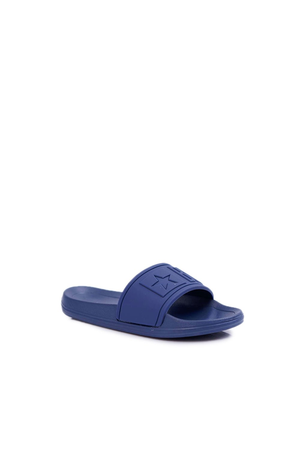 Detské šľapky farba modrá kód obuvi DD374155 NAVY