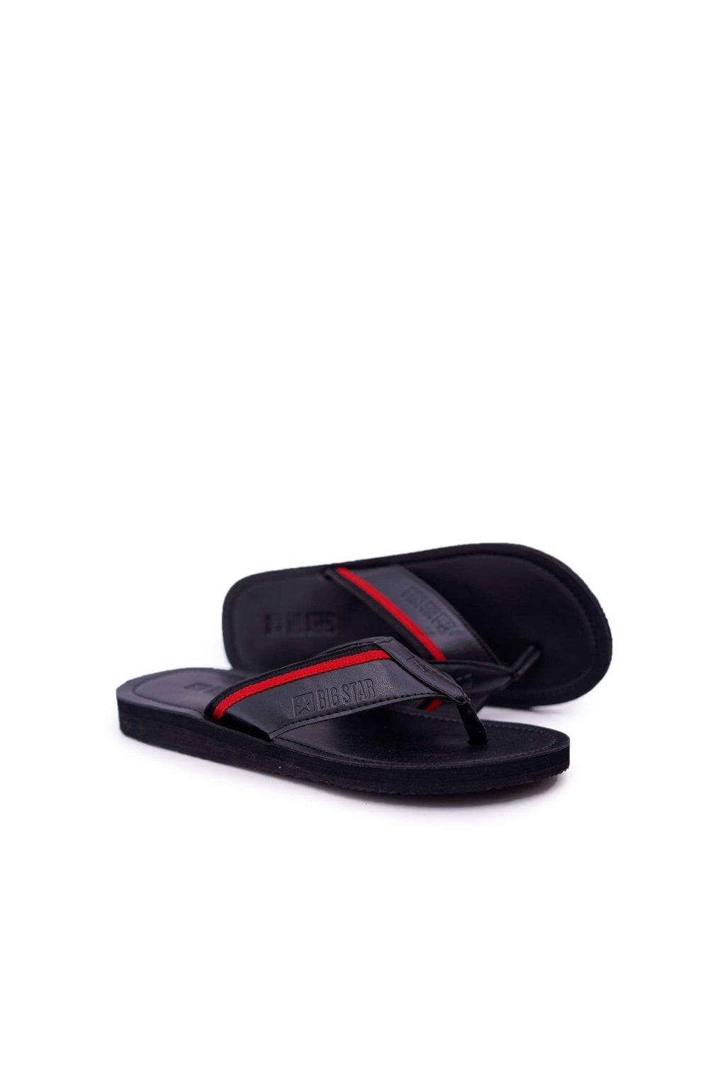 Pánske žabky farba čierna kód obuvi DD174678 BLK