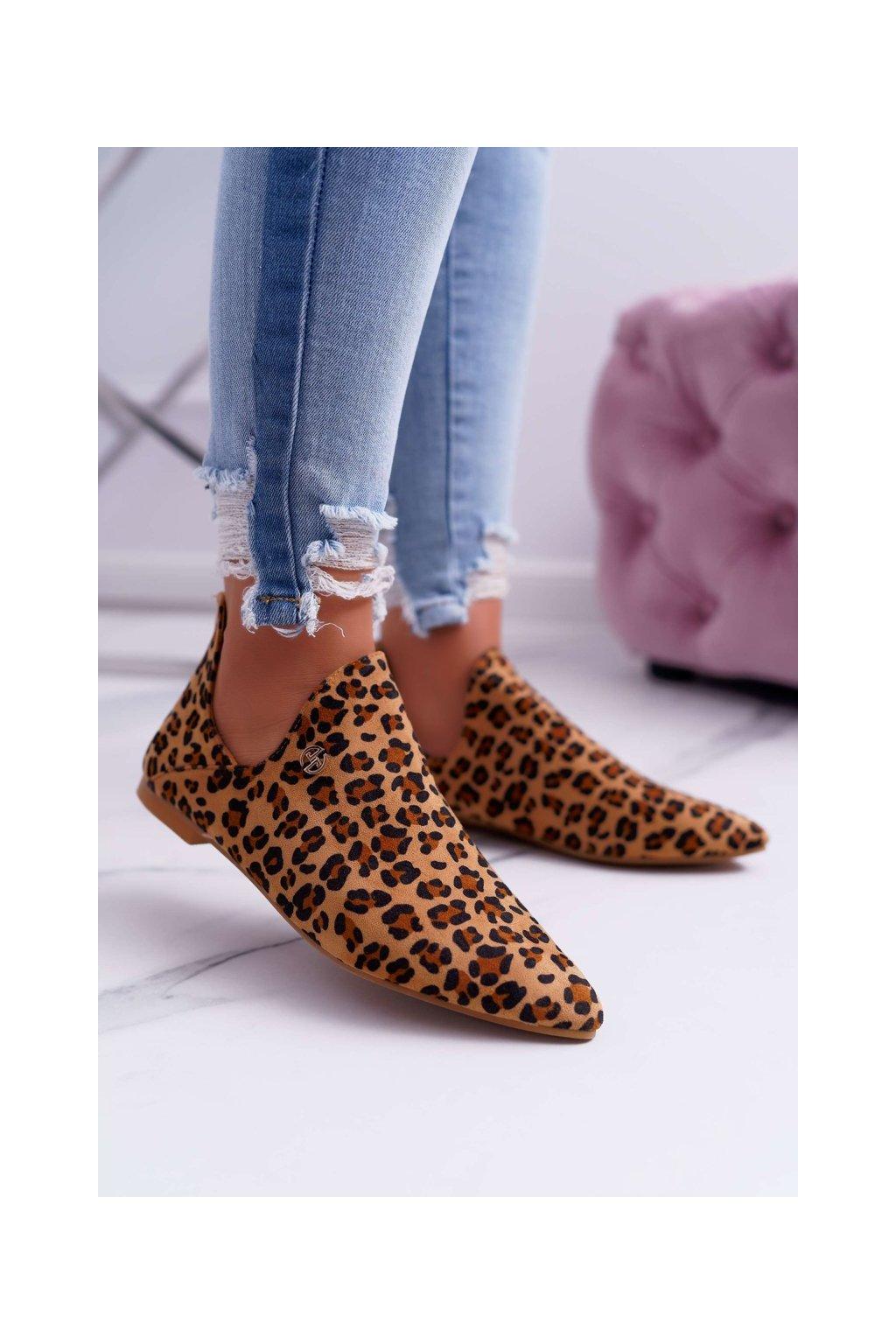 Členkové topánky na podpätku farba hnedá kód obuvi 978-BT1 CAMEL