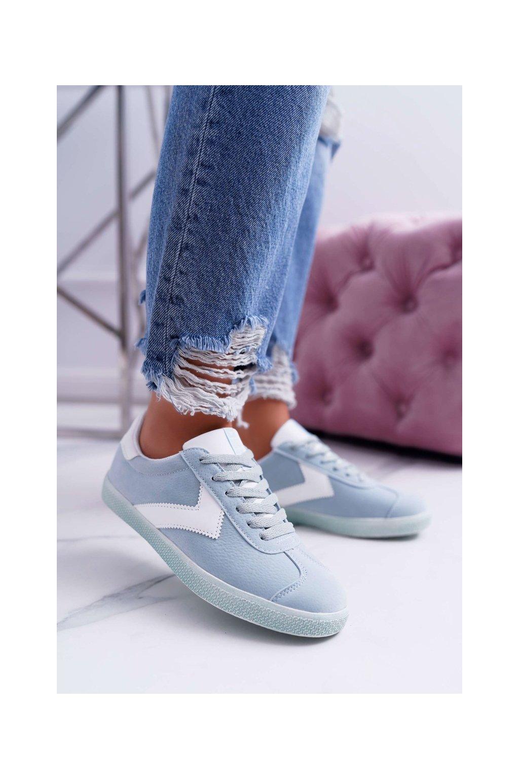 Dámske tenisky farba modrá kód obuvi DD274301 BLUE