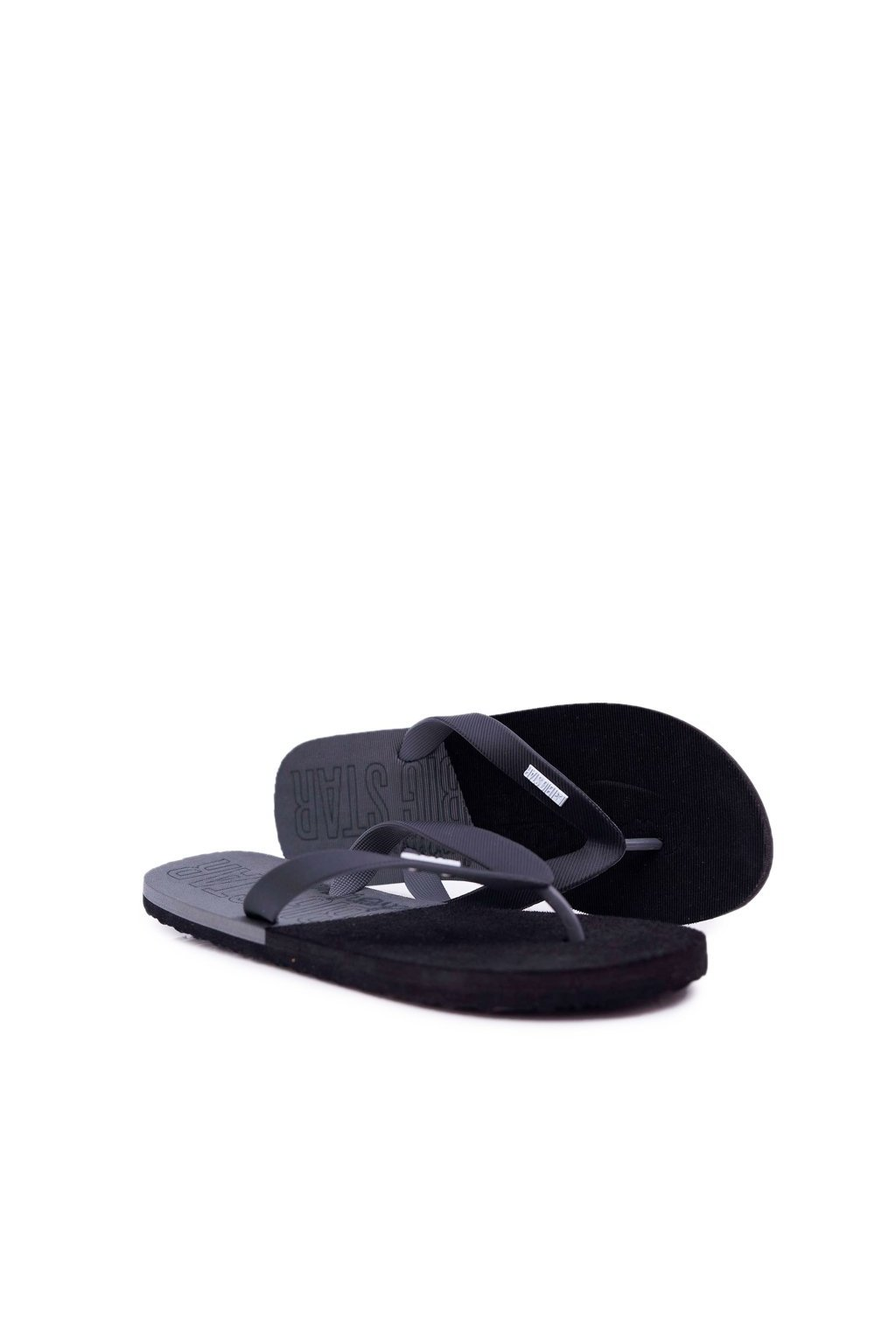 Pánske žabky farba čierna kód obuvi AA174422 BLK