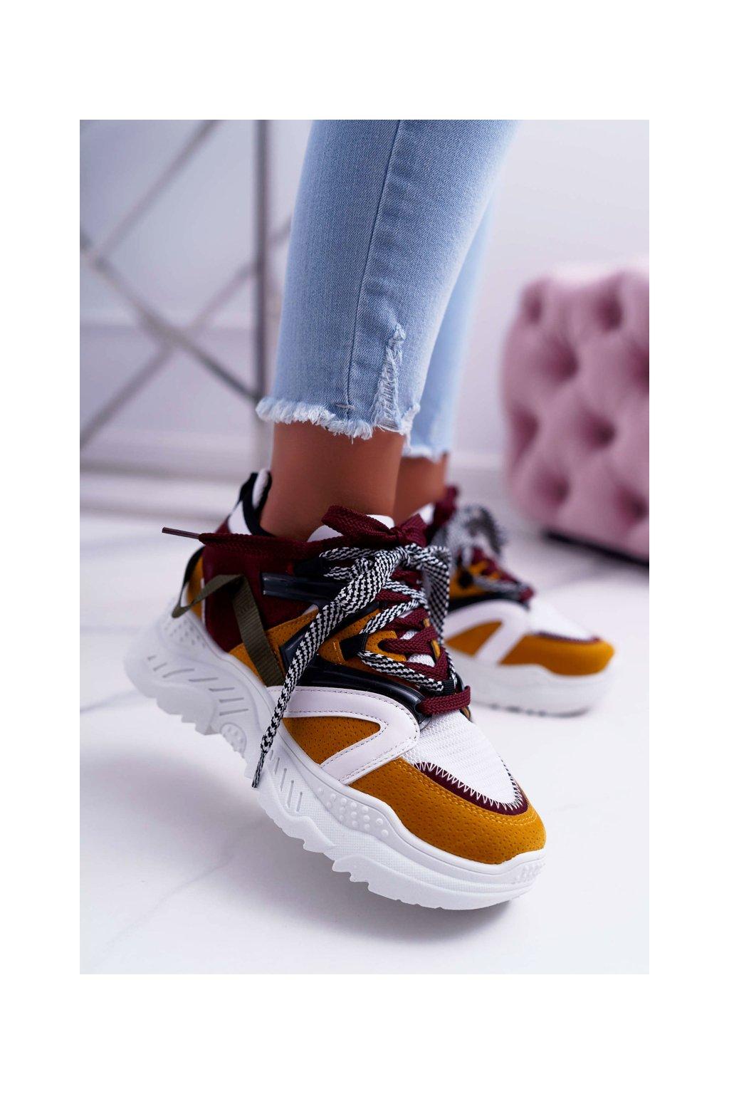Dámska športová obuv žlté B. Energy