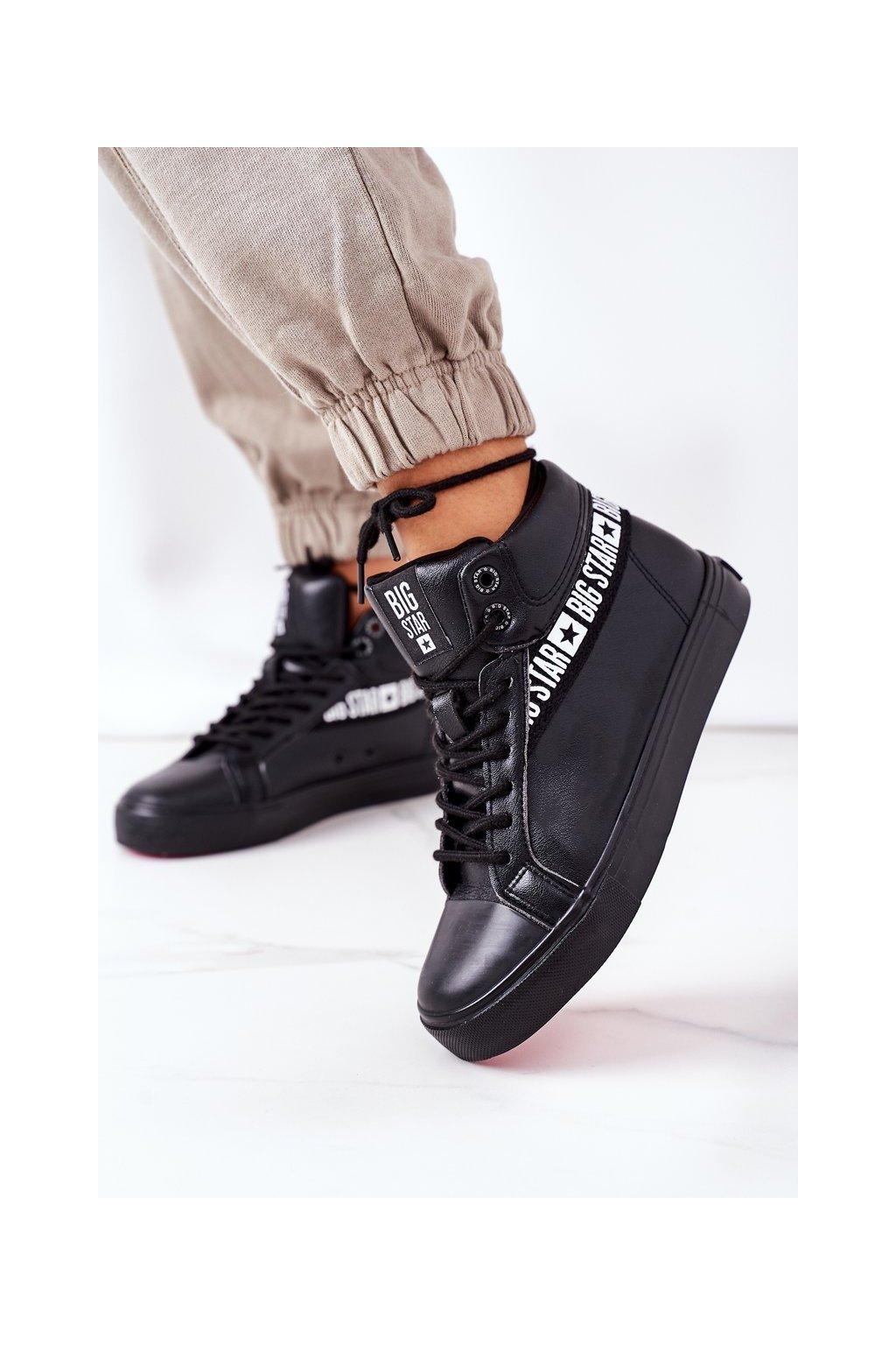 Dámske tenisky farba čierna kód obuvi EE274355 BLK