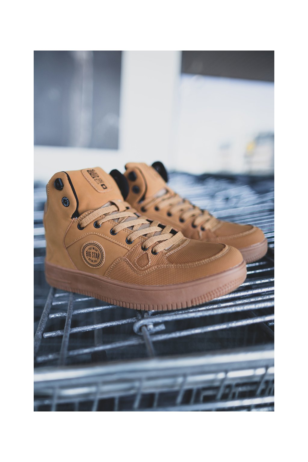 Hnedá obuv kód topánok EE174432 CAMEL