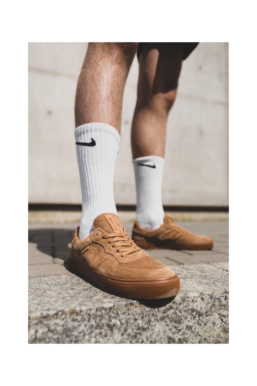Hnedá obuv kód topánok EE174361 BEIGE