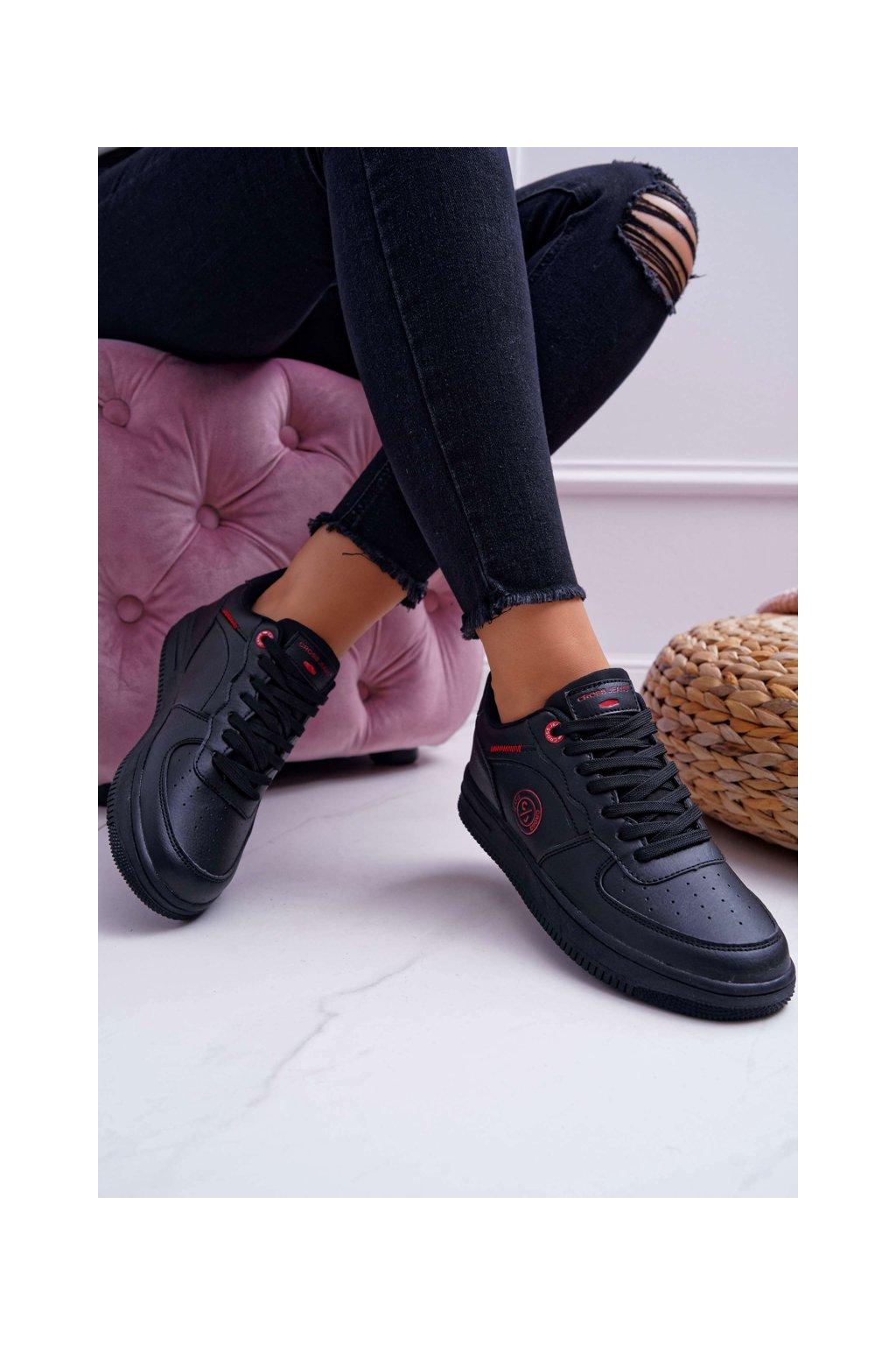 Dámske tenisky Cross Jeans čierne EE2R4144C
