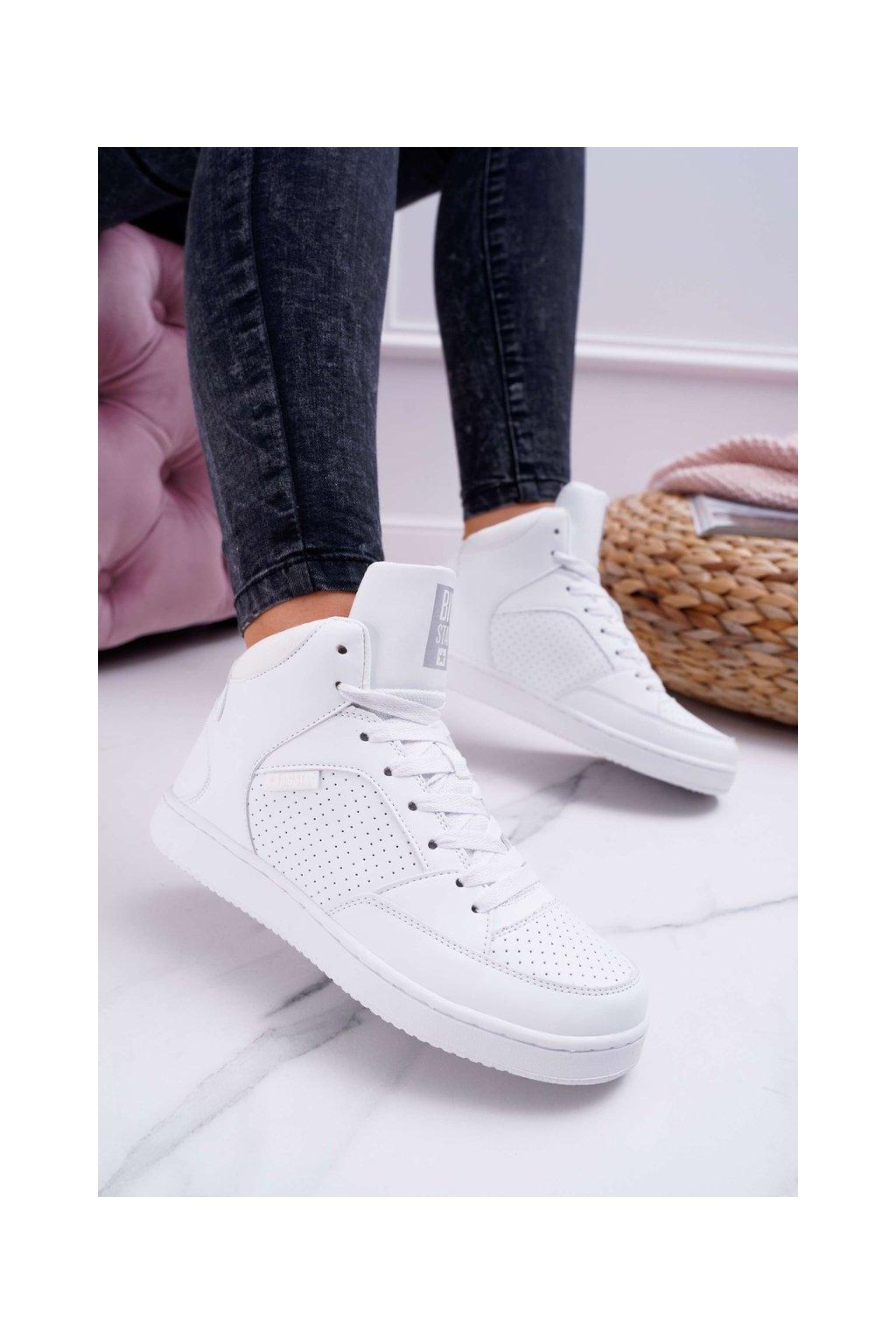 Dámske tenisky farba biela kód obuvi EE274210 WHITE