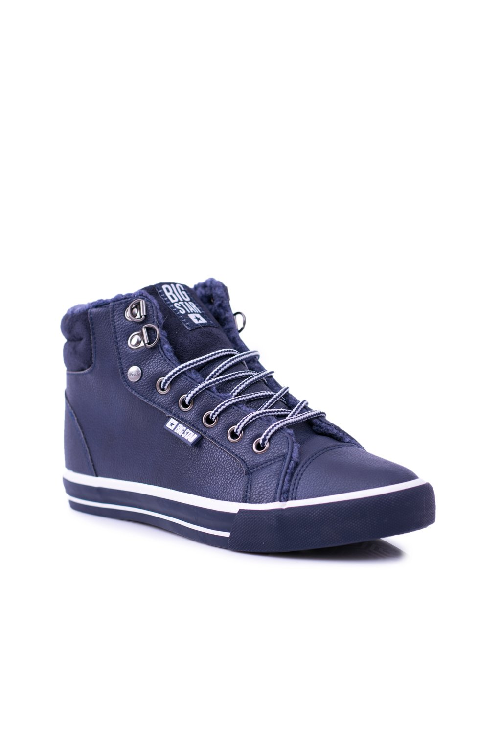 B. Star zateplené tmavo modré Dámske tenisky BB274006