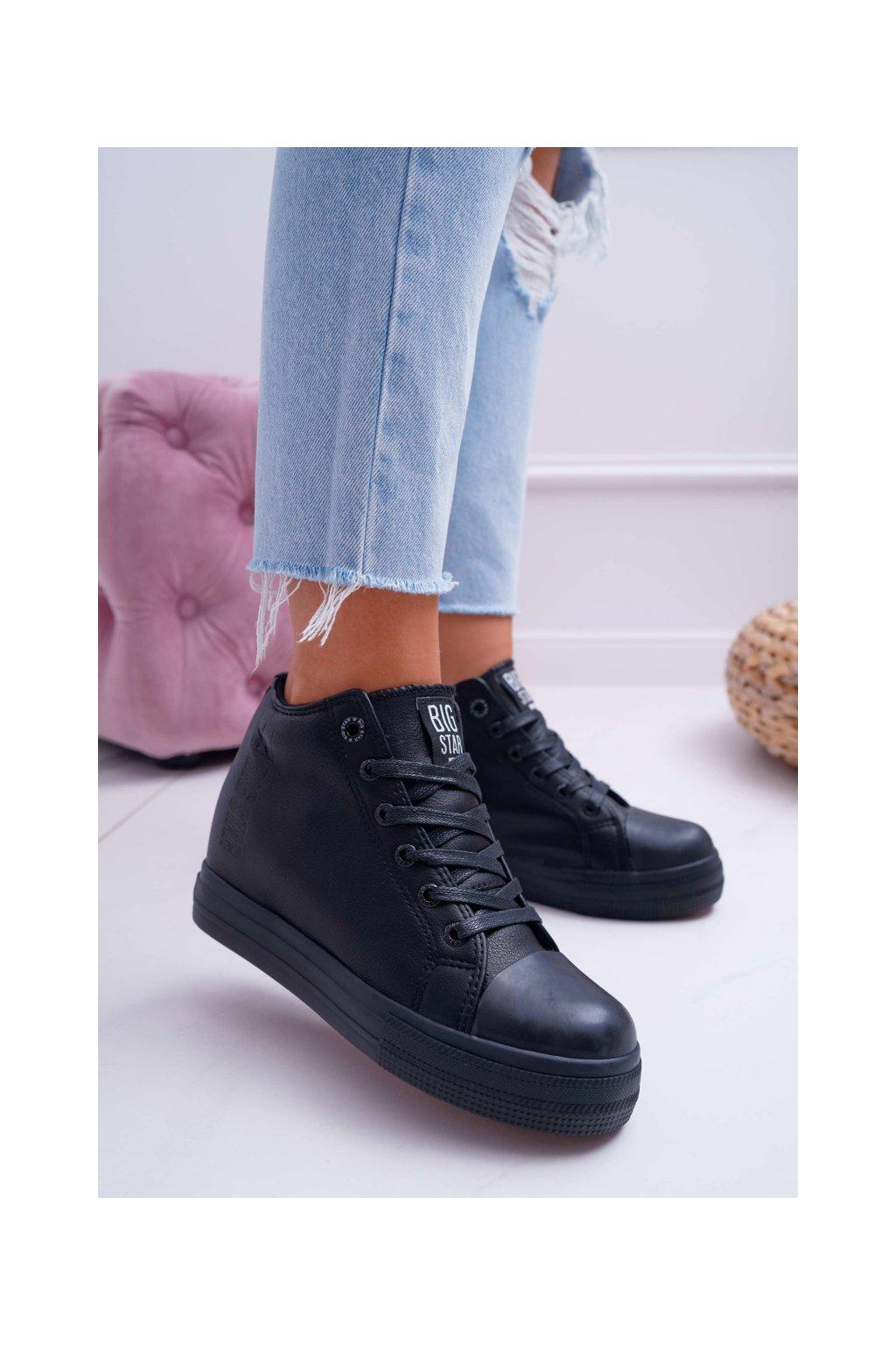 Dámska Obuv Sneakers B. Star čierne EE274128