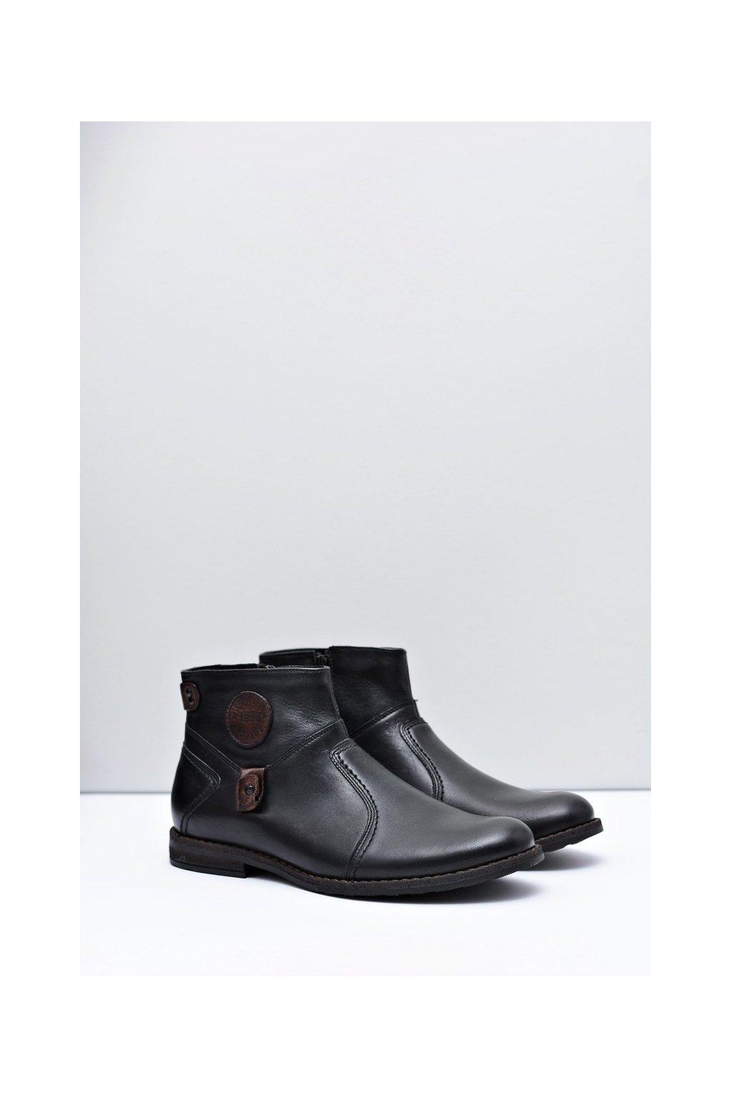 Pánske zateplené topánky na zips Fabrigo