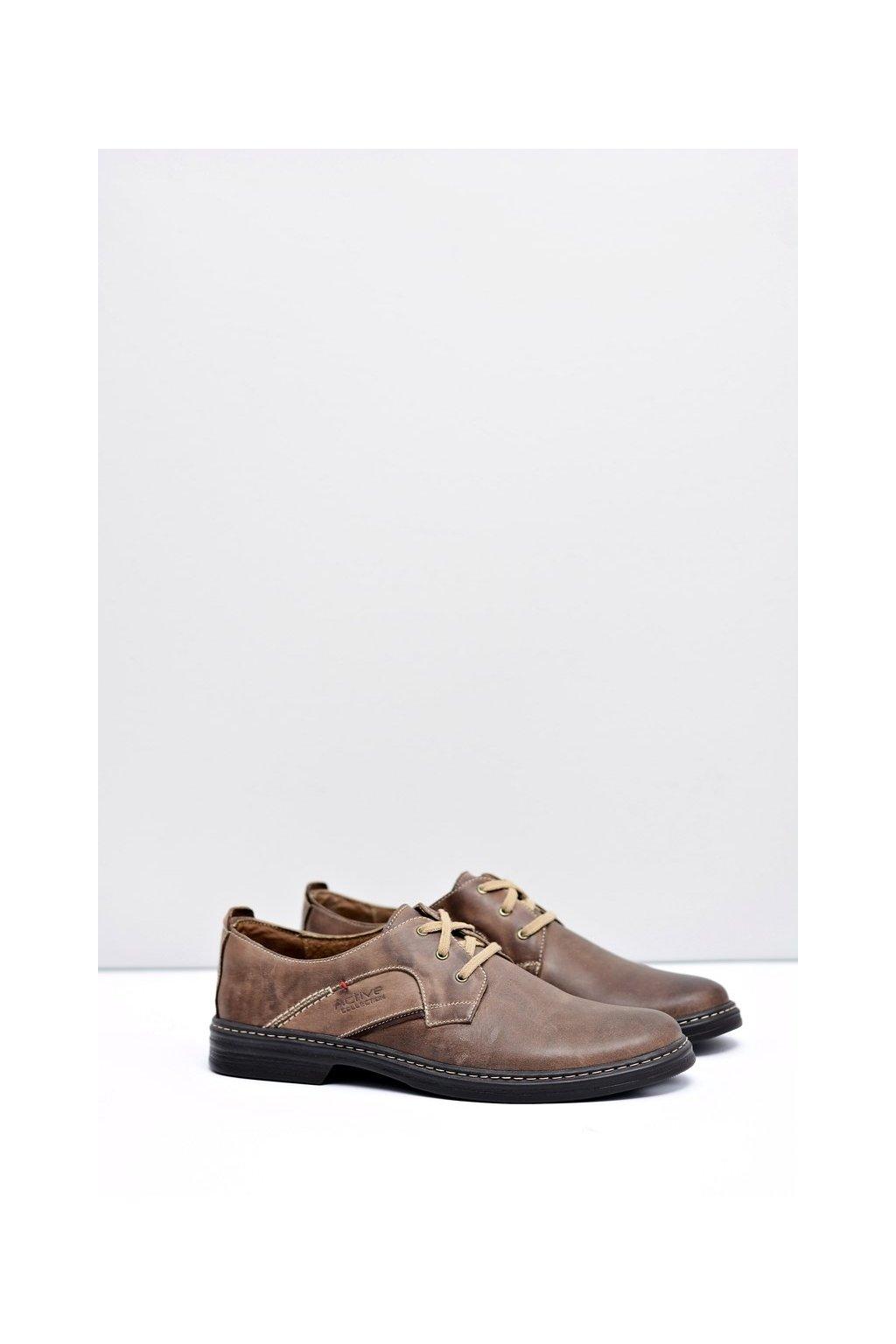 Pánske kožené topánky Fernando