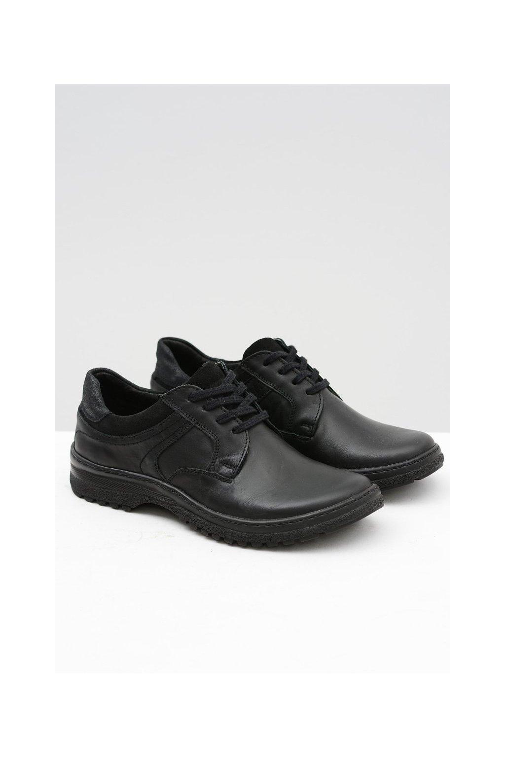 Pánska nízka obuv Ernesto Natural Leather