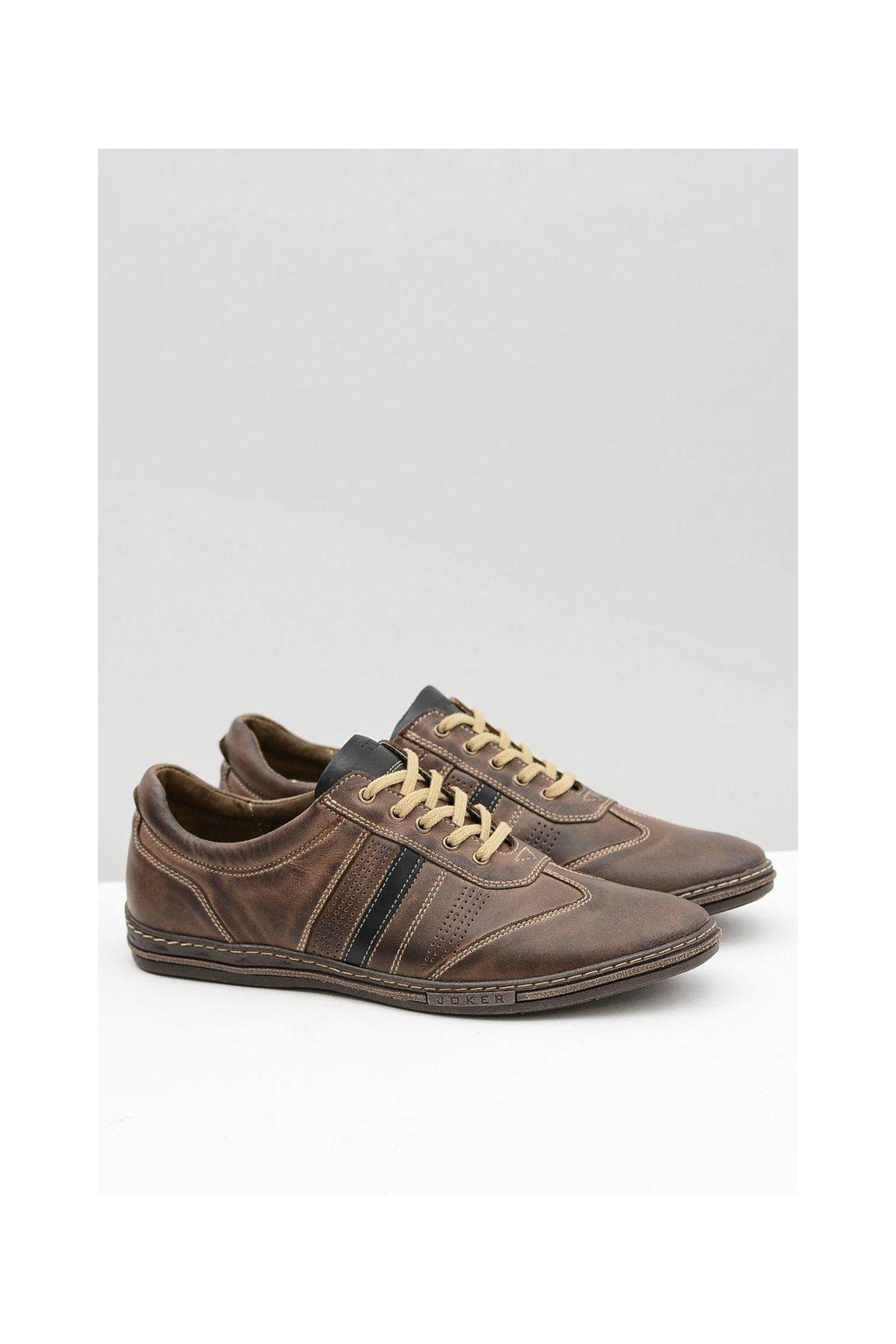 Pánska kožená obuv značky Brian