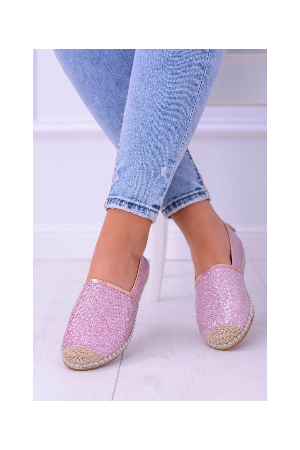 Dámske tenisky farba ružová kód obuvi 2870-1 PINK
