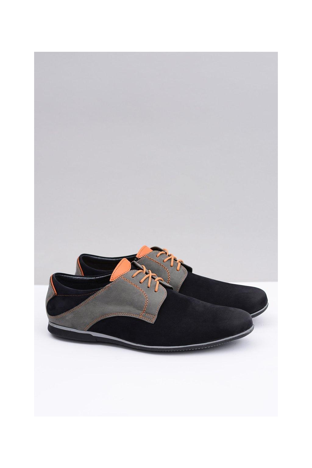 Pánska poľská kožená nízka obuv Carlin