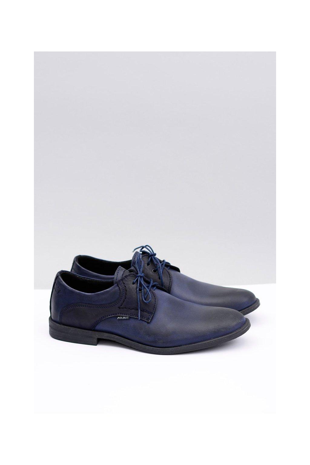 Klasická pánska modrá obuv Martel