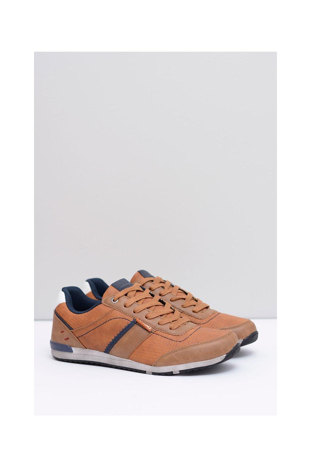 Športová obuv pánska hnedá obuv Hammond