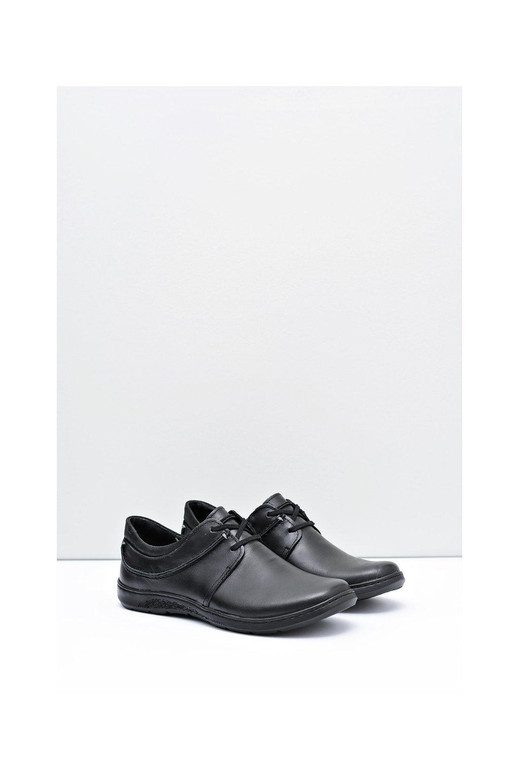 Bežecká obuv pánska moderná koža Fuego