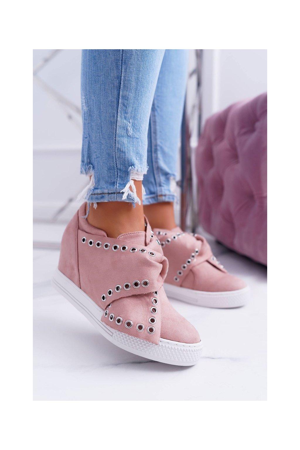 Dámske tenisky farba ružová kód obuvi XW37325 PINK