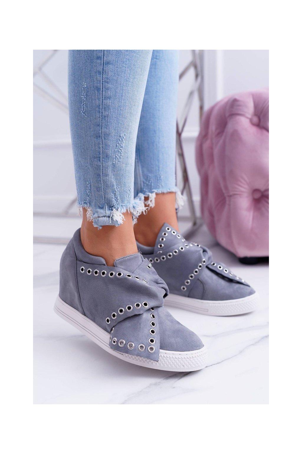 Dámska obuv sneakers sivé LU BOO Margo
