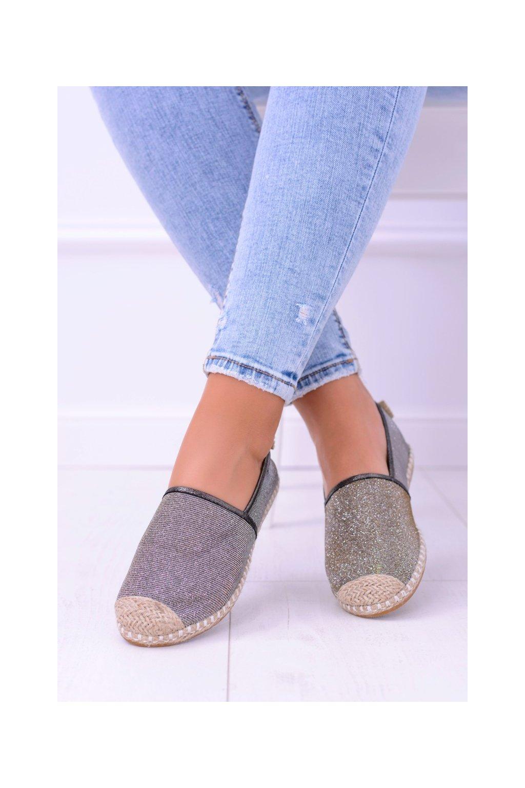 Dámske tenisky farba hnedá kód obuvi 2870-1 BRONZE
