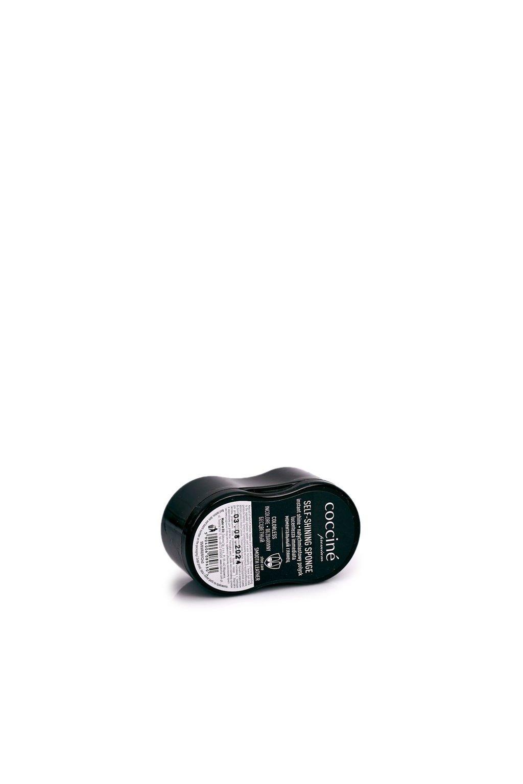 Kefa na čistenie obuvi bezbarvá kód BS55/03/02 COCCINE SHINING SPONGE MAŁY