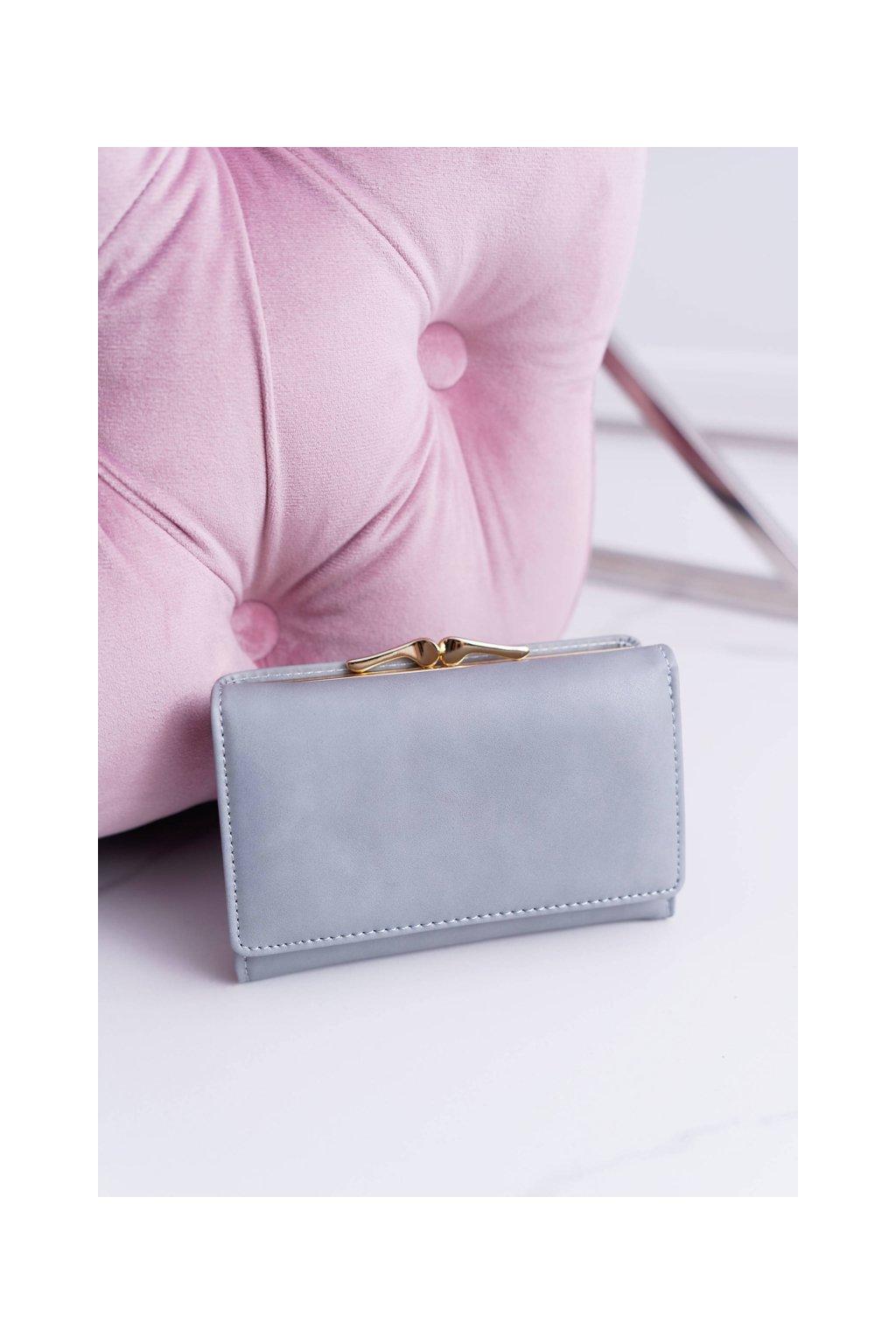 Dámska Peňaženka Klasická Malá Modré Na Západkou