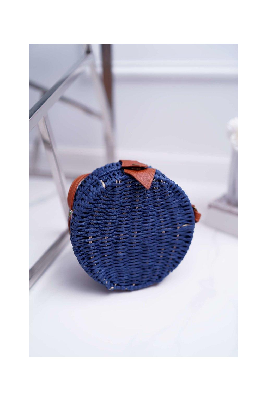 Dámska kabelka modrá kód kabelky FT-02 NAVY