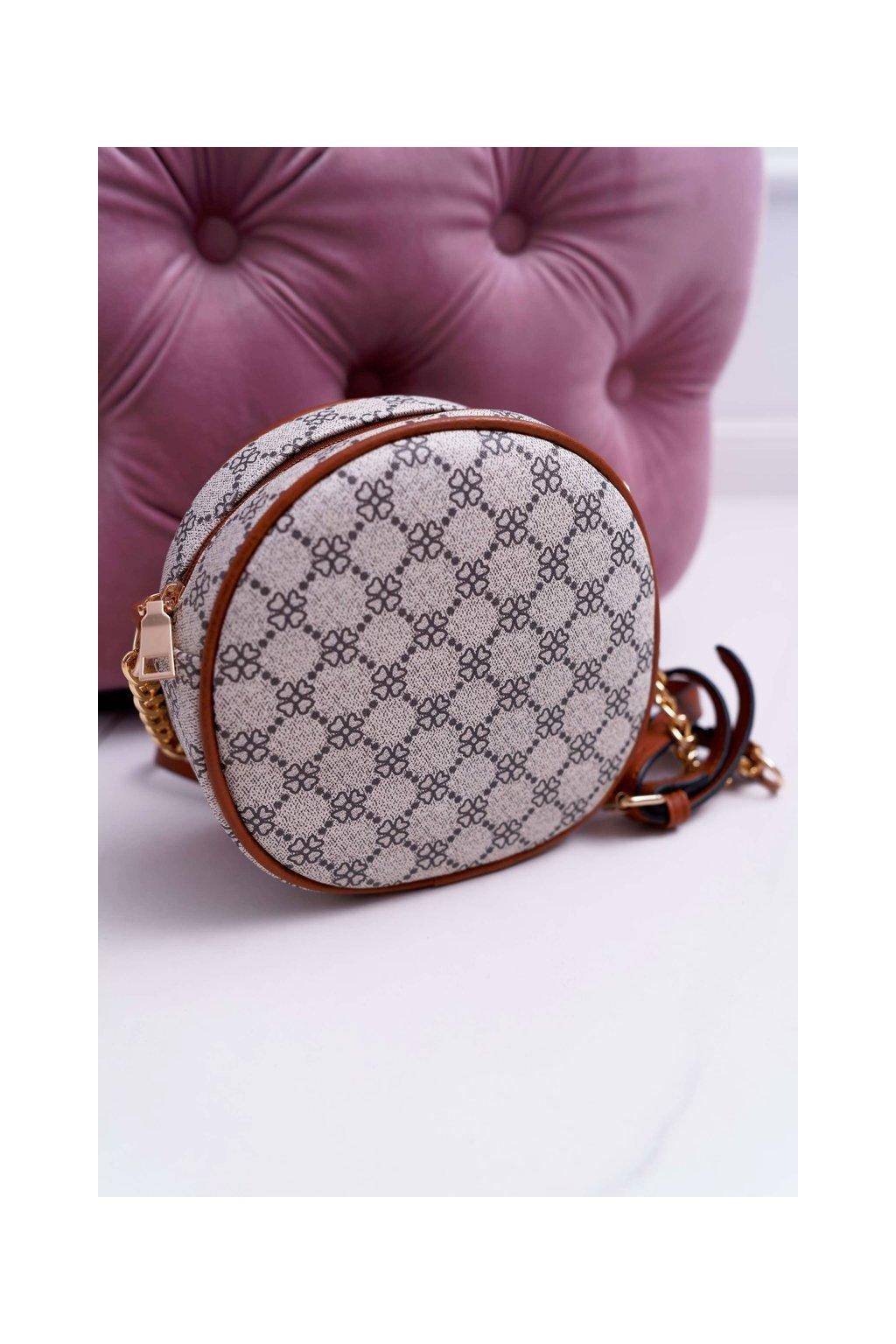 Dámska kabelka hnedá kód kabelky AD-5 BEI/BROWN