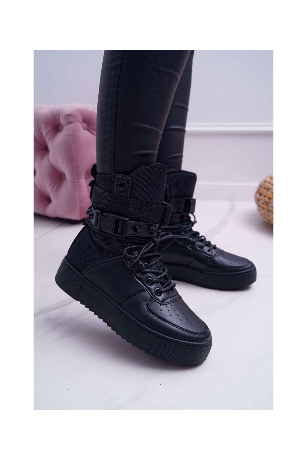 Dámska športová obuv čierne Quake