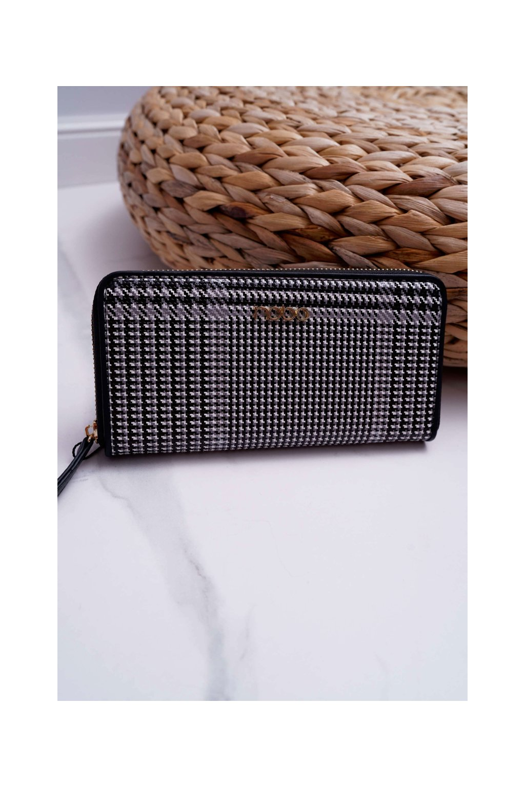 Peňaženka farba čierna kód NPUR-H0061-CM20 MULTI BLK