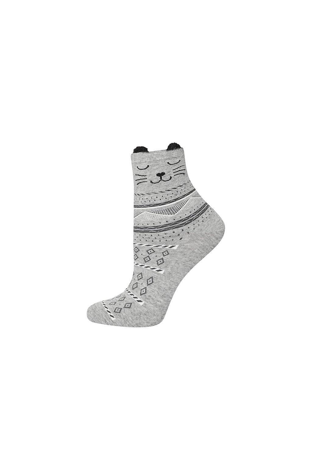 Dámske ponožky SOXO s ušami