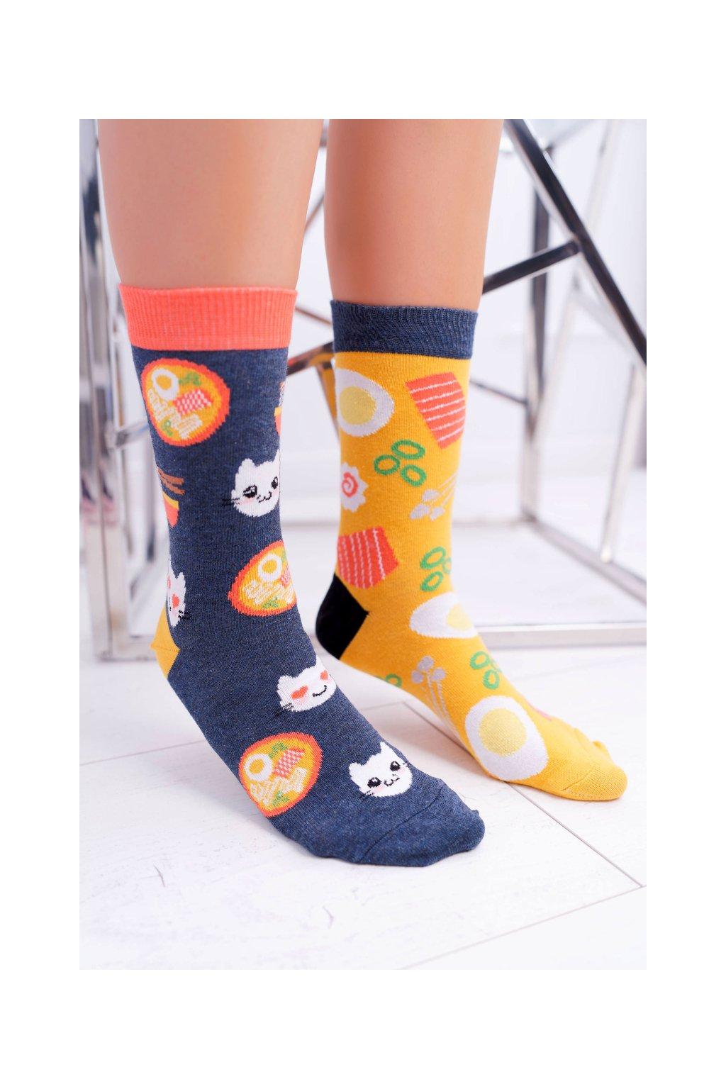 """Dámske ponožky SOXO Good Stuff """"každá iná"""" Ramen"""