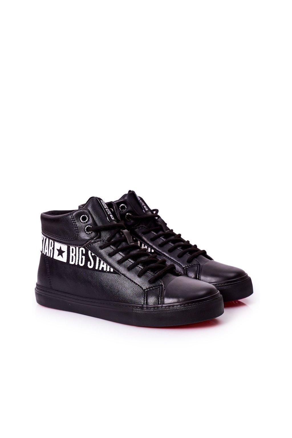 Čierna obuv kód topánok EE174339 BLK