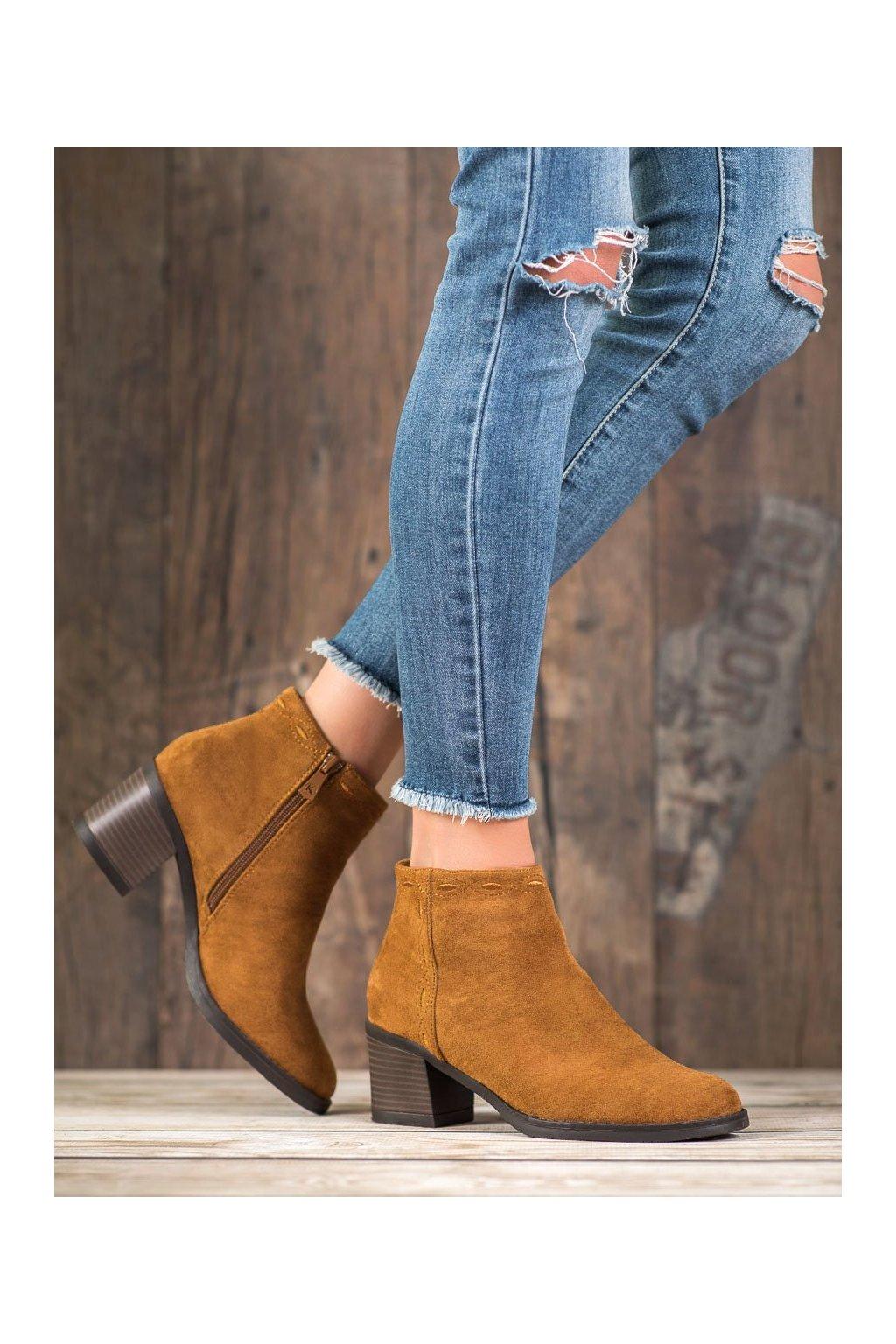 Hnedé dámske topánky Kylie kod K1937904CUE
