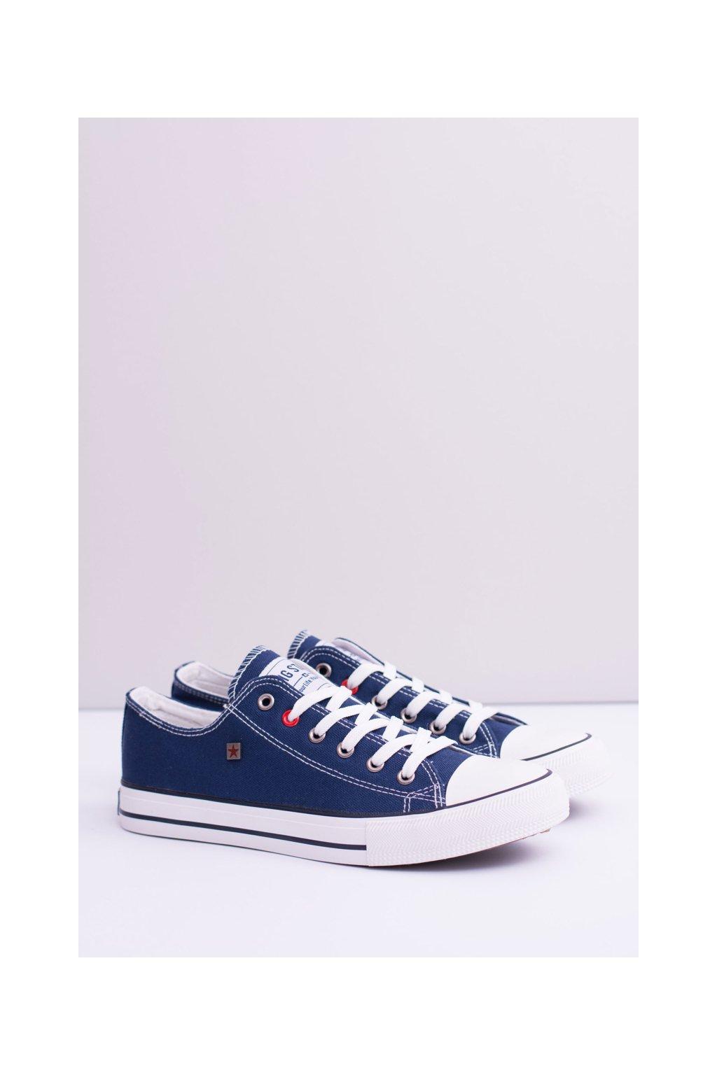 B. Star nízke pánske modré tenisky T174101