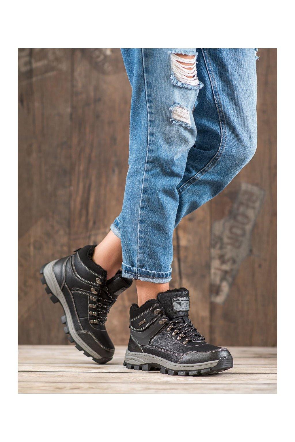Čierne dámske topánky Arrigo bello kod BM98493B