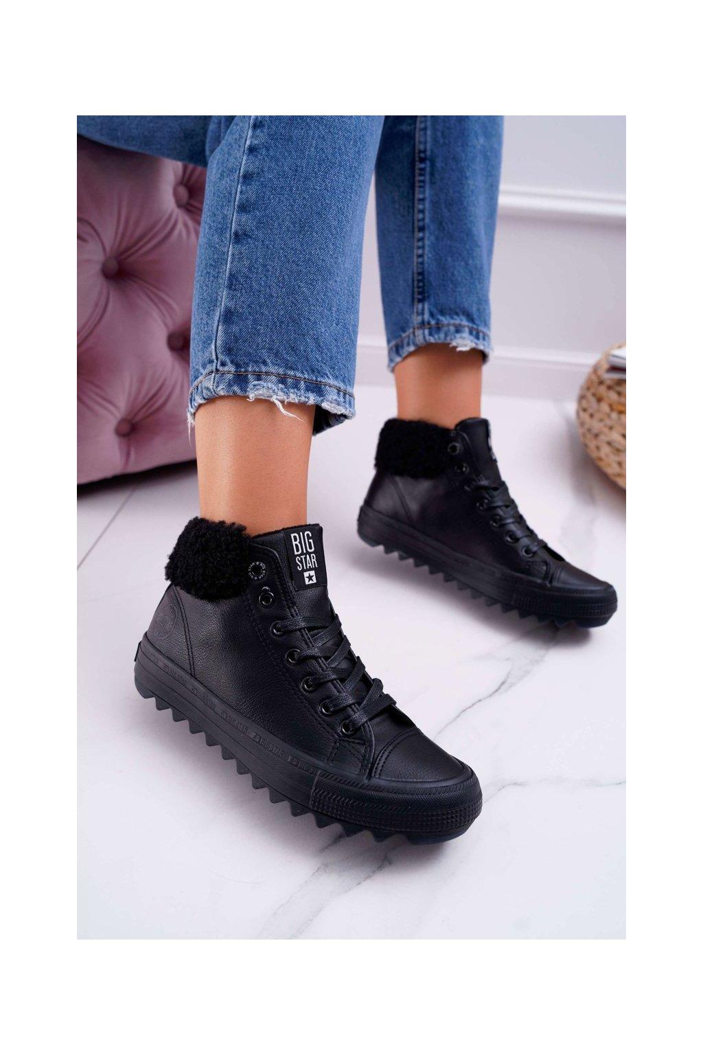 Dámske tenisky farba čierna kód obuvi EE274145 BLK