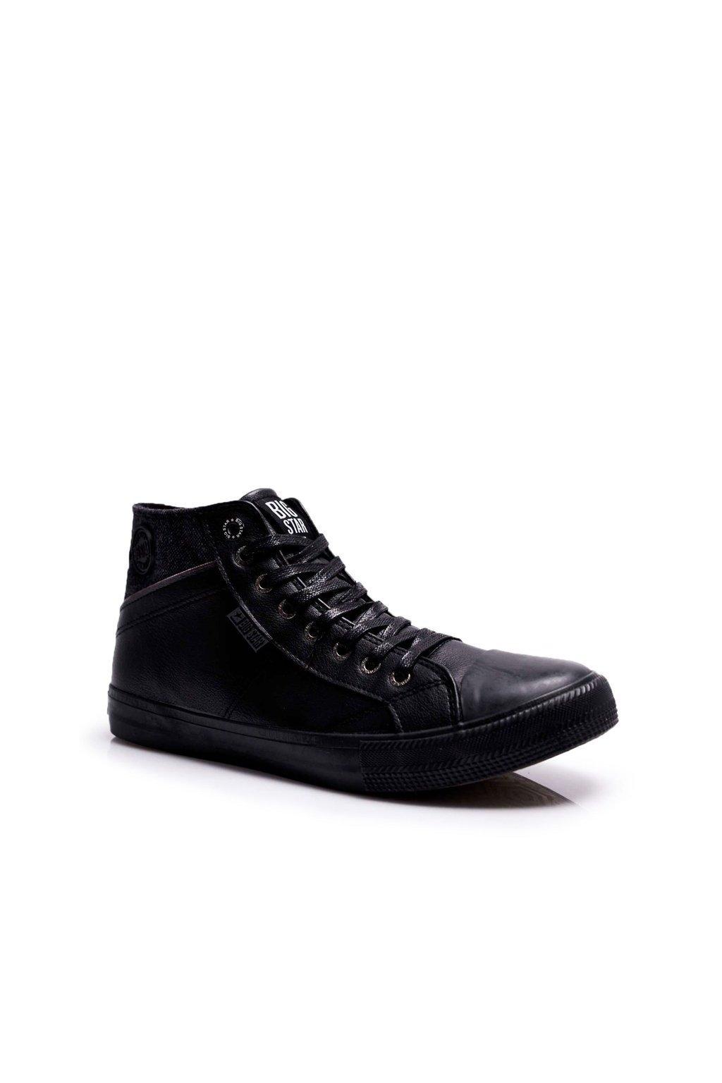 Čierna obuv kód topánok EE174102 BLK