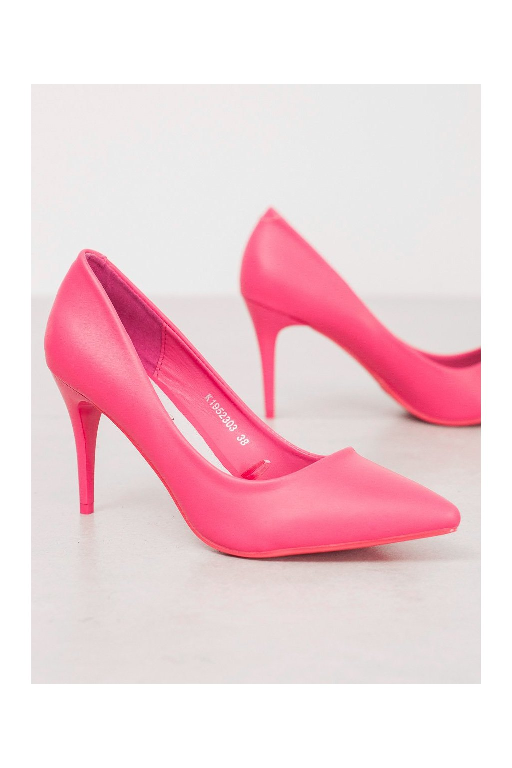 Ružové dámske lodičky Kylie kod K1952303F