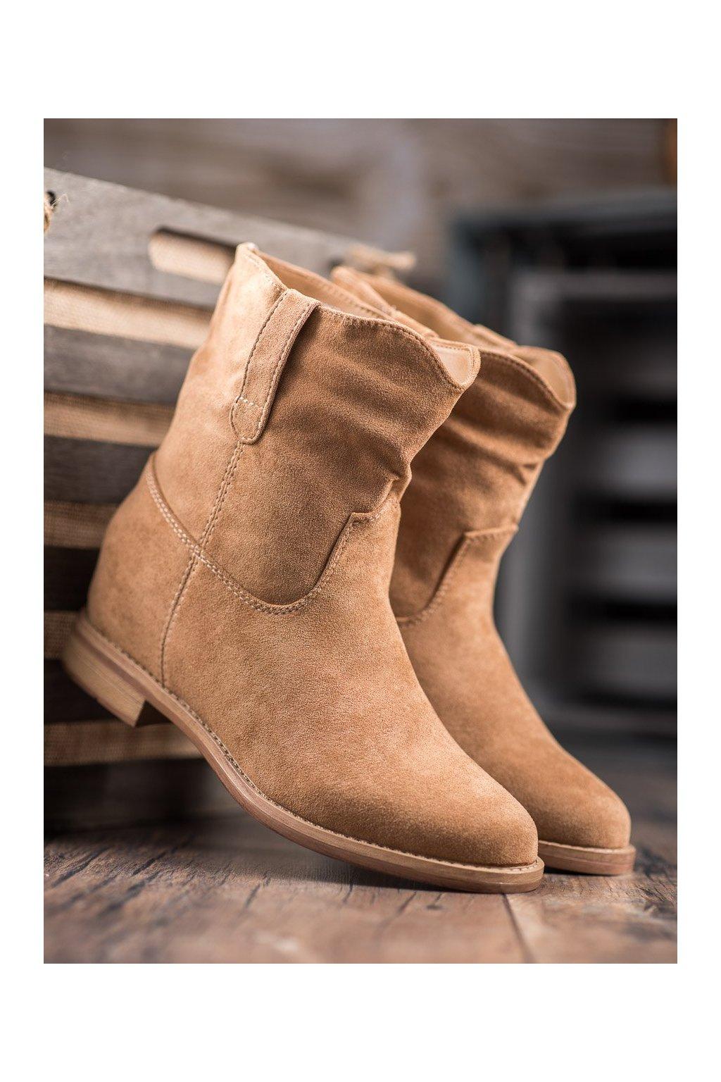 Hnedé dámske topánky Seastar kod NC952KH
